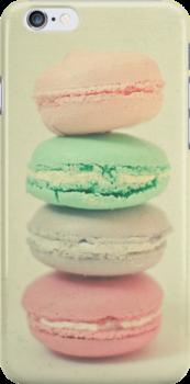 Four Macarons by Cassia