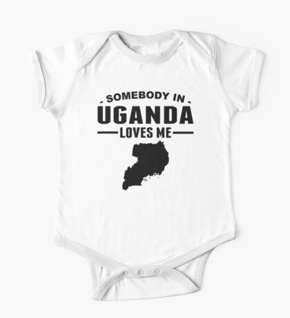 Somebody In Uganda Loves Me One Piece - Short Sleeve