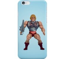 He-Man (battle damage) iPhone Case/Skin