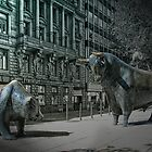 bear &amp; bull Frankfurt by Jo-PinX