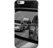 Sideview (black and white) iPhone Case/Skin