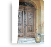Waddesdon Door Metal Print