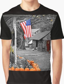 Rural America - Fall Harvest Graphic T-Shirt