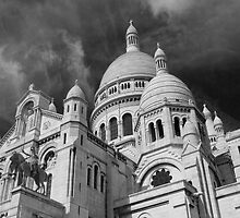 Sacré Coeur, Montmartre, Paris by Nick Coates
