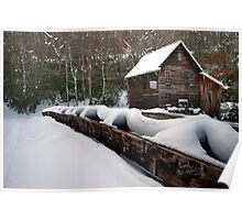 Winter on Glade Springs Poster