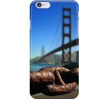 Golden Gate Bridge San Francisco iPhone Case/Skin