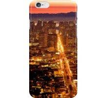 San Francisco Cityscape iPhone Case/Skin