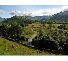 Summer in Patterdale Photographic Print
