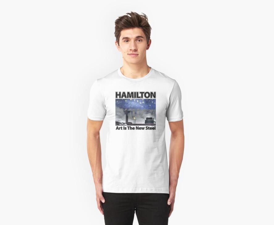 Hamilton - Art is the New Steel by Lee Edward McIlmoyle