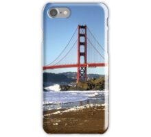Golden Gate Beach iPhone Case/Skin