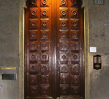 A Door in Milan. 2012 by Igor Pozdnyakov