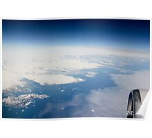 The Icy Coast of Greenland Poster