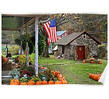 Fall Harvest - Rural America Poster