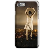 Gas Mask Woman iPhone Case/Skin