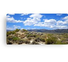 A Cloudy Summer Canvas Print