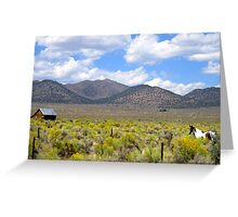 A Ranch Somewhere Greeting Card