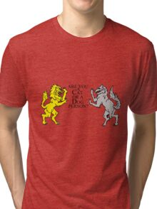 Are you a Cat or a Dog person? Tri-blend T-Shirt