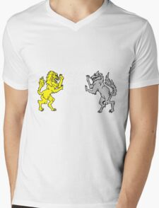 Are you a Cat or a Dog person? Mens V-Neck T-Shirt