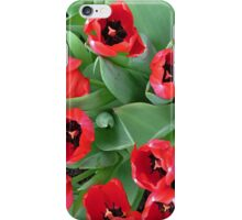 Inside Red Tulips iPhone Case/Skin