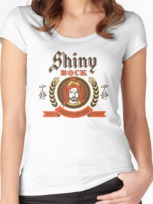 Shiny Bock Beer Women's Fitted Scoop T-Shirt