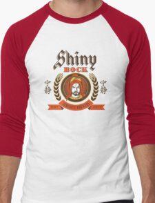 Shiny Bock Beer Men's Baseball ¾ T-Shirt