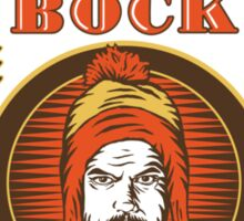 Shiny Bock Beer Sticker