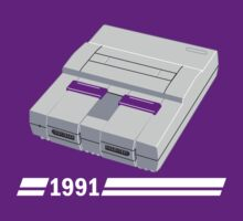 History of Gaming - SNES by emonegarand
