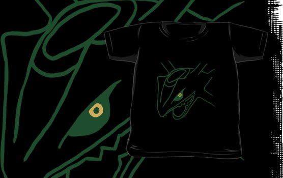 Legendary Line - Rayquaza by eevilmurray