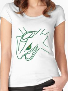 Legendary Line - Rayquaza Women's Fitted Scoop T-Shirt