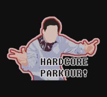 Hardcore Parkour! by pickledbeets
