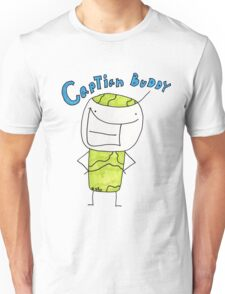 Captain Buddy T-Shirt by Josiathe Price Unisex T-Shirt