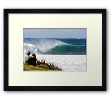 Mick Lowe Rules Framed Print