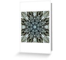 Metallic Implosion Greeting Card