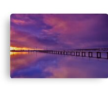 """Shades Of Dawn"" Canvas Print"
