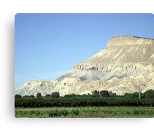 Mount Garfield Canvas Print