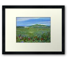 Noosa from the Look-Out Framed Print