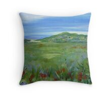 Noosa from the Look-Out Throw Pillow