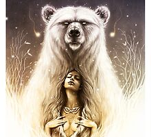 Bear Spirit by LorenAssisi