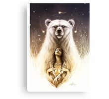 Bear Spirit Canvas Print