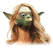 White Girl Yoda by kindafunny