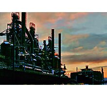 Frozen In Time - Bethlehem Pa. Photographic Print
