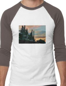 Frozen In Time - Bethlehem Pa. Men's Baseball ¾ T-Shirt