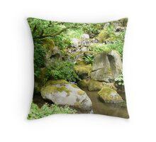 Japanese Garden 1 Throw Pillow
