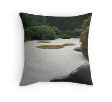 Japanese Garden 7 Throw Pillow