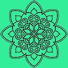 Simple Swirl Mandala by ninthcircle