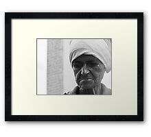Portrait. Framed Print