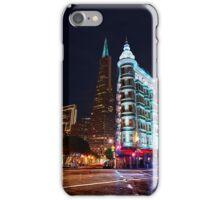 Columbus Tower & Trans-America Building San Francisco iPhone Case/Skin