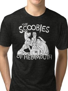 The Scoobies Of Hellmouth Tri-blend T-Shirt
