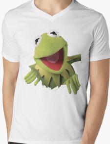 Kermit The Frog Mens V-Neck T-Shirt