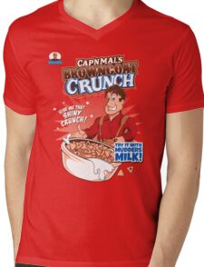 Browncoat Crunch Mens V-Neck T-Shirt